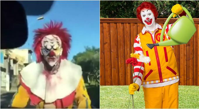 Por sustos com palhaços, McDonald's diminuirá exibição de mascote