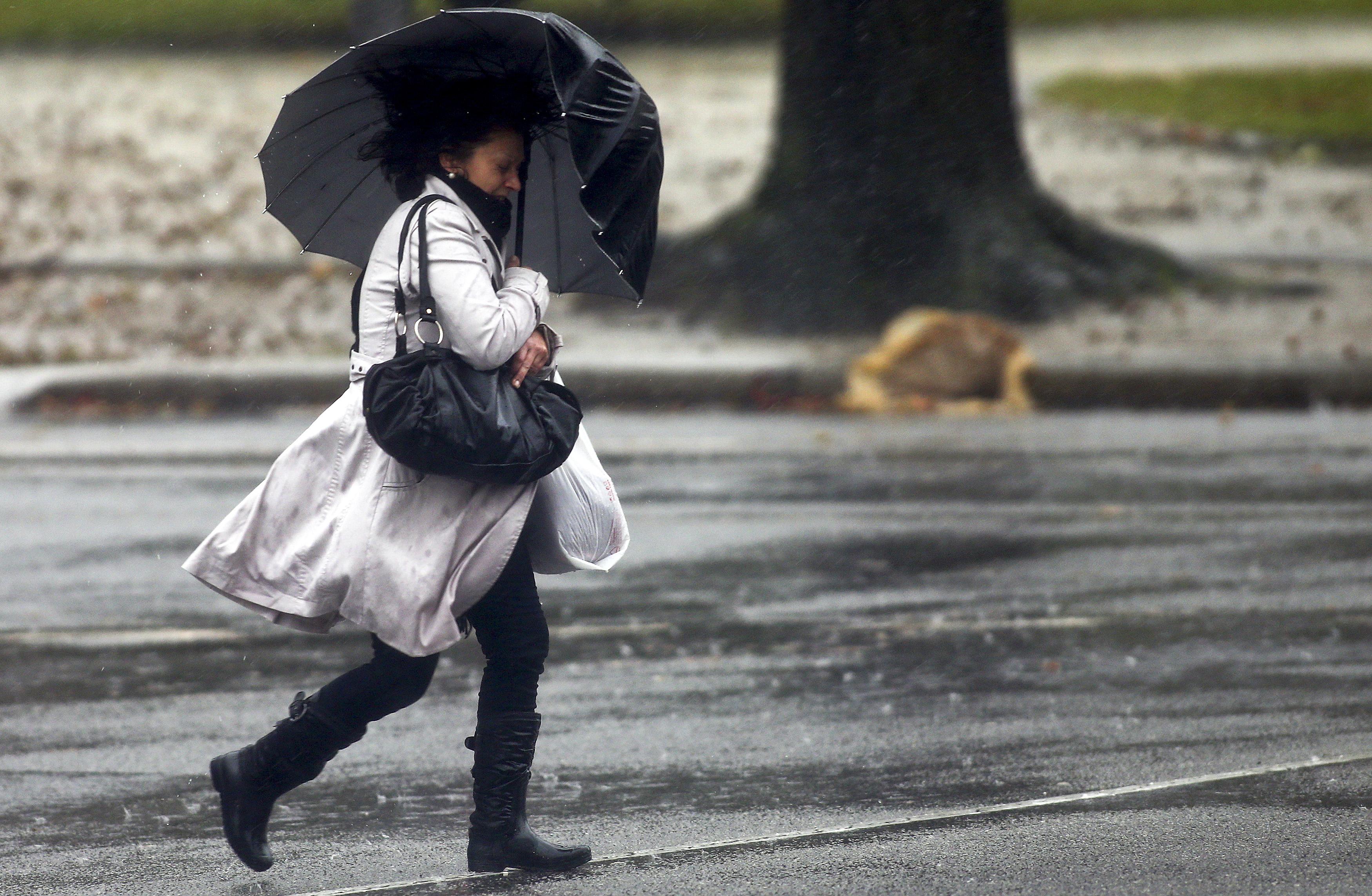 Alerta para chuva forte e rajadas de ventos durante a semana no ...