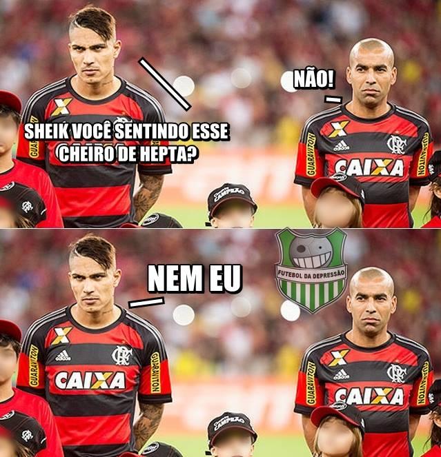 Cheirinho de Hepta? 'Zoeira' com o Flamengo na internet ...