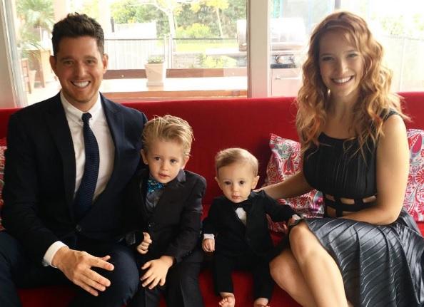 Filho mais velho do cantor Michael Bublé sofre de um câncer