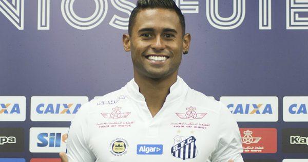 1dd14ff7fa Kayke exalta Ricardo Oliveira em apresentação no Santos