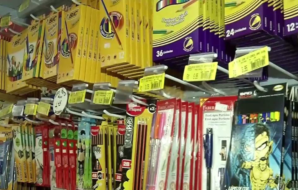 22c1366a8 Papelarias contam sobre as vendas de material escolar na Grande Vitória