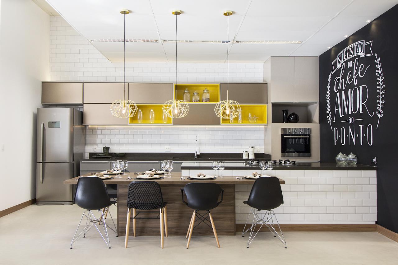 Cozinhas Planejadas Modernas Coloridas Na Imagem Abaixo Vemos Mais
