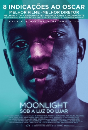 Cartaz Moonlight: Sob A Luz Do Luar