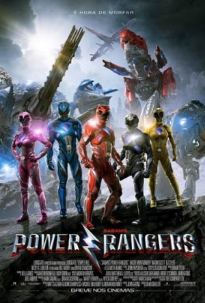 Cartaz Power Rangers