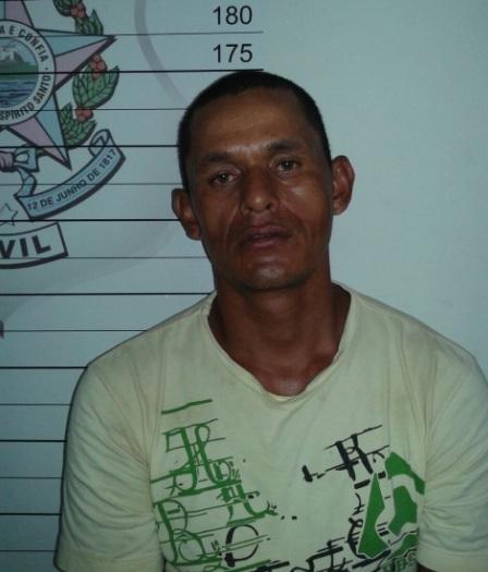 Aldemir Oliveira dos Santos foi preso em flagrante pelo crime de homicídio qualificado e encaminhado ao presídio