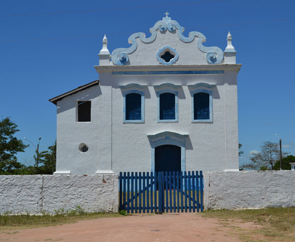 O Santuário Nossa Senhora das Neves é um dos patrimônios históricos de Presidente Kennedy