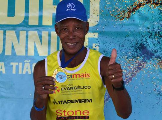 Há 20 anos na prática esportiva, Valdemir de Matos conquistou várias medalhas em maratonas pelo Brasil