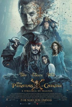 Cartaz Piratas Do Caribe - A Vingança De Salazar