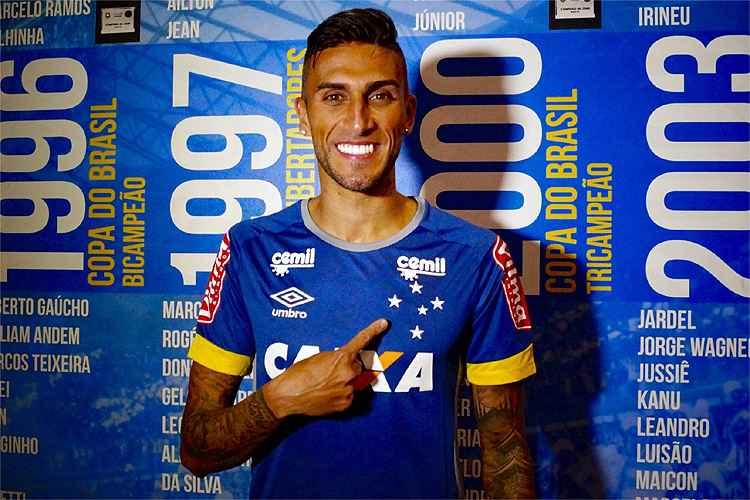 Reforço, Rafael Marques diz que optou pelo Cruzeiro por 'grandeza' do clube