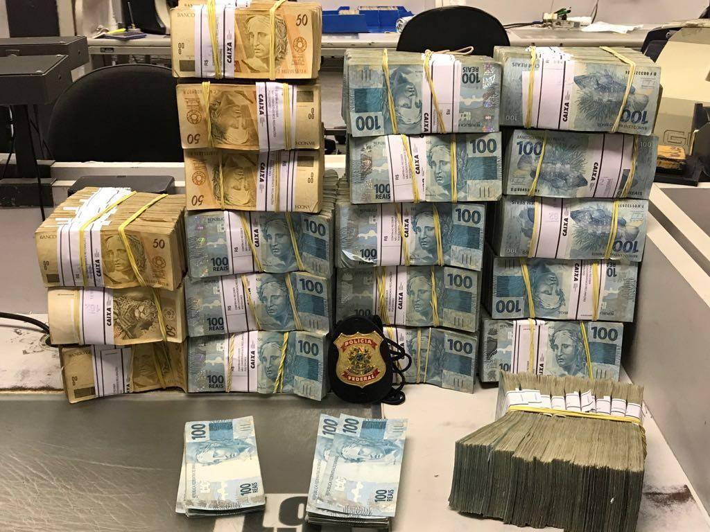 PF divulga apreensão de pelo menos, R$ 2 milhões em operação