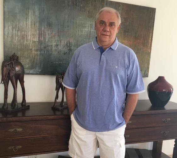Apresentador Marcelo Rezende revela que está com câncer e fala sobre fé