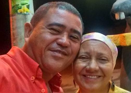 O pastor João Batista e a esposa Wandercina se envolveram em um acidente em Ibiraçu