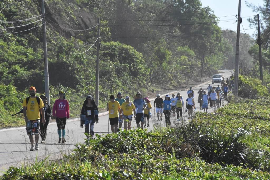 Cerca de 4 mil peregrinos participam da caminhada passos for Camping cerca de vitoria