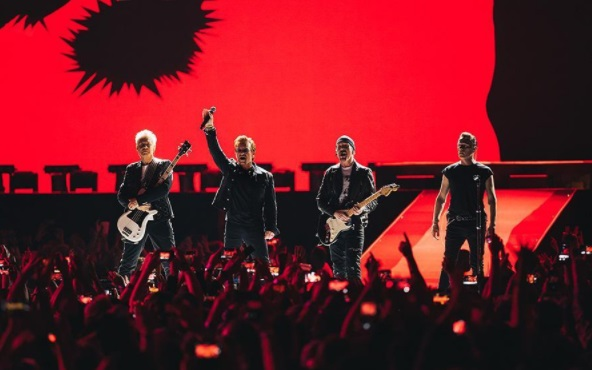 U2 anuncia terceiro show em São Paulo