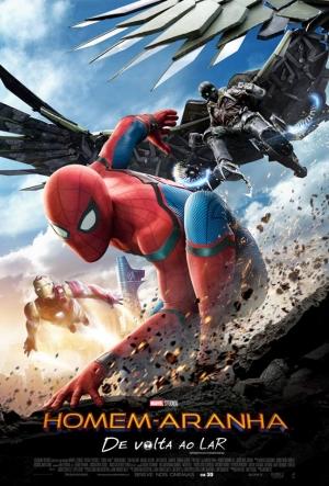 Cartaz Homem-Aranha: De Volta Ao Lar