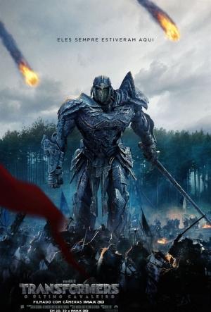 Cartaz Transformers: O último Cavaleiro