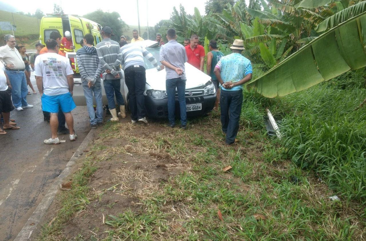 O acidente, que resultou na morte do ex-presidente da Câmara de Anchieta, Jocelém Gonçalves de Jesus, ocorreu na manhã deste sábado (8)