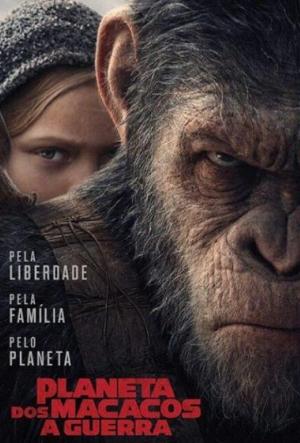 Cartaz Planeta Dos Macacos: A Guerra