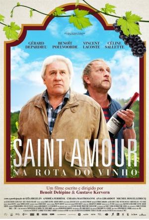 Cartaz Saint Amour - Na Rota Do Vinho