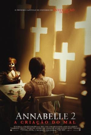 Cartaz Annabelle 2 - A Criação Do Mal