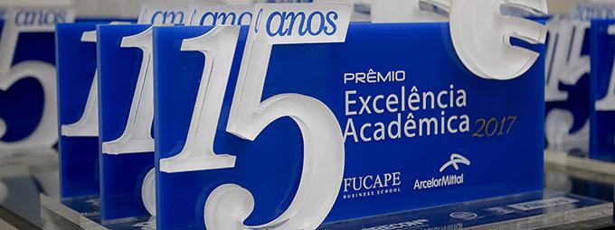 Cerimônia dos 15 Anos do Prêmio Excelência Acadêmica