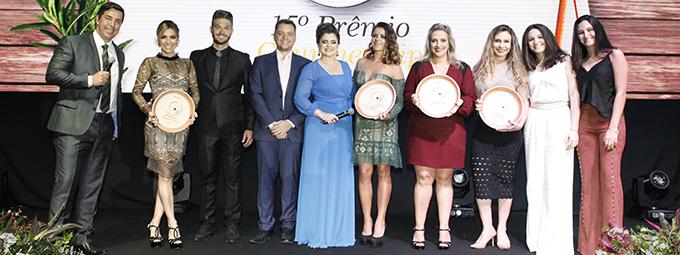 Entrega do 15º Prêmio Gourmet Vip