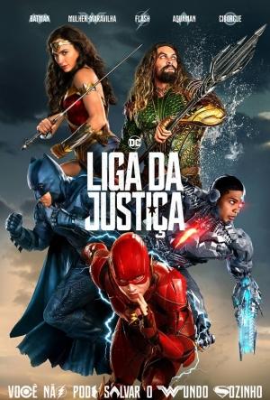 Cartaz Liga Da Justiça