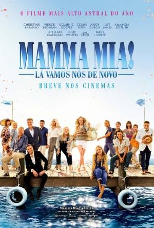 Cartaz Mamma Mia! Lá Vamos Nós De Novo