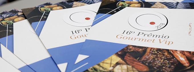 Lançamento do 16º Prêmio Gourmet Vip