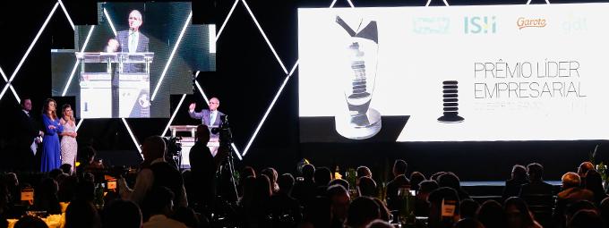 Entrega do Prêmio Líder Empresarial 2018